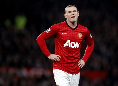 Wayne Rooney is understood to be unhappy with recent comments made by United manager David Moyes.