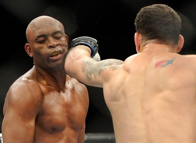 Weidman secured a shock victory over Silva recently.