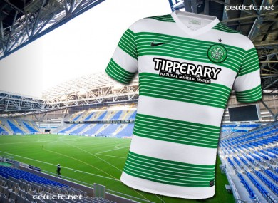 new concept 9bcd0 4b02f Explained: why Celtic will wear jerseys with the Tipperary ...