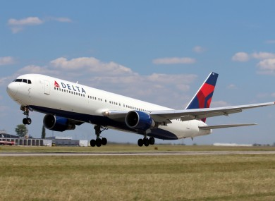 A Delta Airlines Plane (file photo).