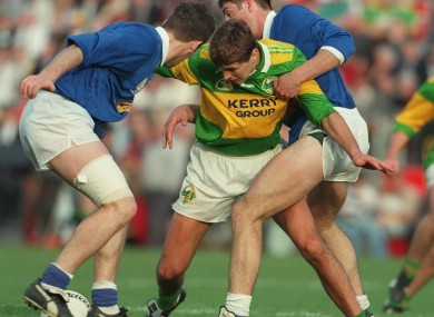 Maurice Fitzgerald during the 1997 All Ireland semi-final between Kerry and Cavan.