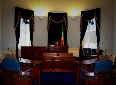 The Seanad Chamber