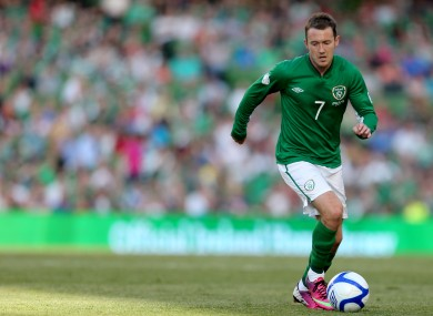 Aiden McGeady produced twice as many assists than any other Irish player under Trap.