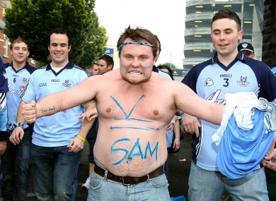 A Dublin supporter gets a 16-year wait (and his top) off his chest in 2011.