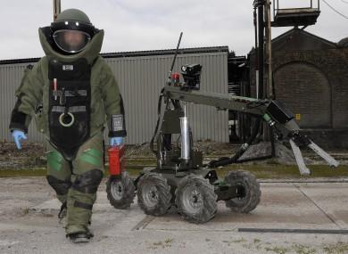 Army Bomb Disposal Team (File photo).