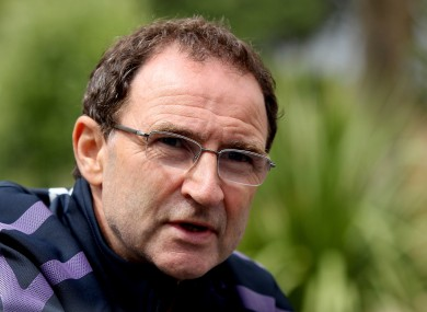 Favourite: Martin O'Neill is the early front-runner.