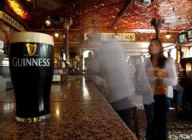Pub in Belfast.