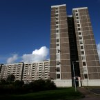 The Joseph Plunkett tower, Ballymun in Dublin (Image: Brian Lawless/PA Wire)<span class=