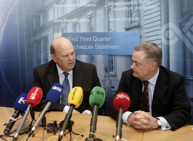 Ministers Noonan and Howlin will be telling us what's in the Budget tomorrow