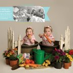Pippa and Sophia were born at 24 weeks weighing 1lb 1oz and 1lb 4oz.<span class=