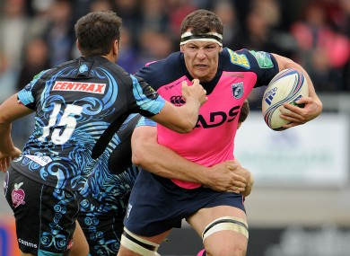Copeland was man of the match against Toulon last weekend.