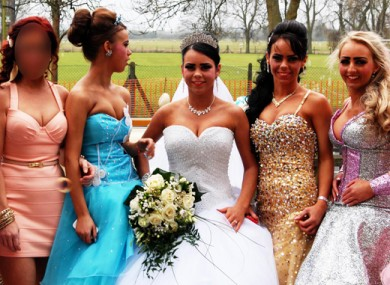 One of the weddings featured in Big Fat Gypsy Weddings