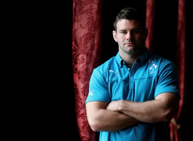 Fergus McFadden is hoping to win his 20th cap for Ireland this weekend.