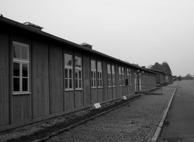 Part of the concentration camp at Mauthausen