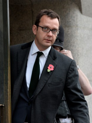 Andy Coulsen at the Old Bailey in London today
