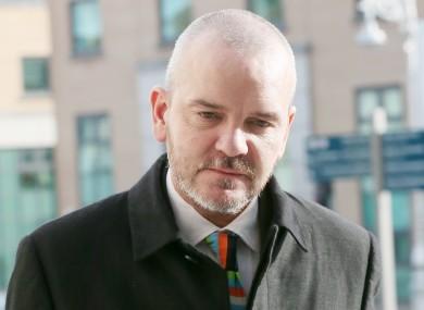 Former solicitor Thomas Byrne.