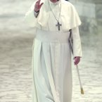 Last year he was an Argentinian cardinal named Jorge Bergoglio. Now, he is Pope Francis, head of the Catholic Church.<span class=