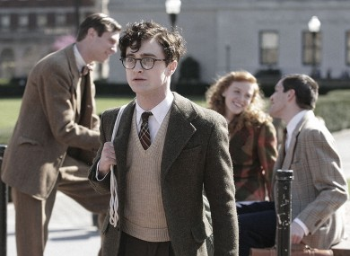 Daniel Radcliffe in Kill Your Darlings, on release in Ireland right now. Would this be the film you might review?