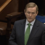 """If you want to have a debate about the past you can start by clarifying for everybody in this country whether or not you were a member of the IRA... Nobody believes you, nobody believes you."" — Taoiseach Enda Kenny called on Sinn Féin leader Gerry Adams to clear up a long-standing issue.<span class="