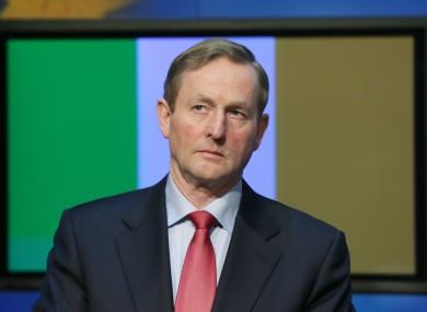 Enda Kenny's future is in Ireland, it would appear