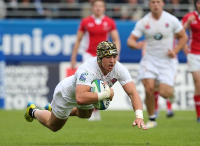 Nowell in action during last year's JWC final.