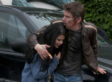 Ethan Hawke and Selena Gomez, getaway out of that. No, really, Getaway.