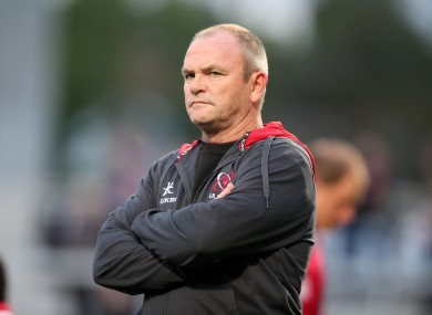 Anscombe is in his second season with Ulster.