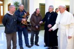 Pope Francis invites homeless people to breakfast for his birthday