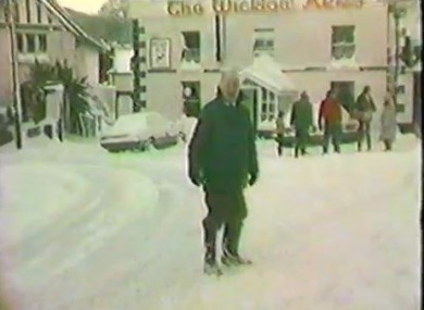 Coming Kids Snow Kast.Who Remembers Ireland S Big Snow Of 1982