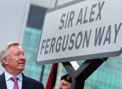 Alex Ferguson retired as Manchester United manager in 2013.