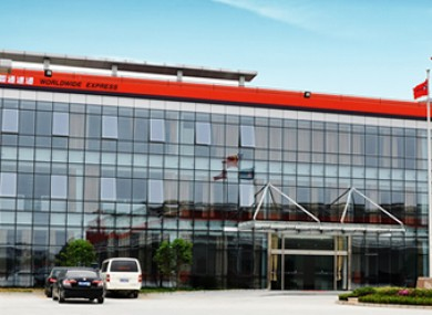 YTO Express offices in China.