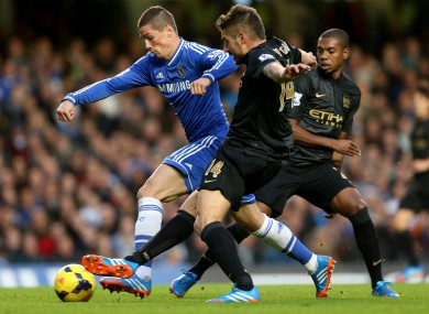 Chelsea meet Manchester City on Monday night.