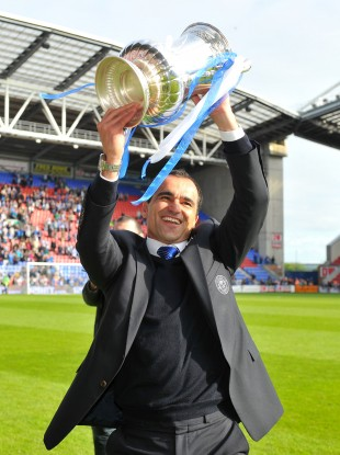 Roberto Martinez will hope for FA Cup success again this year.