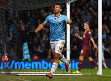 It was all too easy for City once Aguero found his shooting boots.