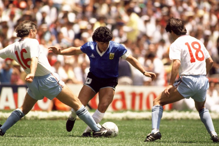 VIDEO: Relive Maradona's classic goal against England from a new ...