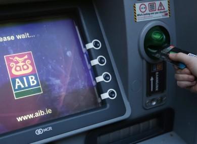 An AIB ATM.