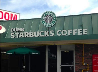 Dumb Starbucks shut down because nobody was clever enough to