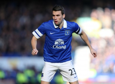 Seamus Coleman's Everton face Chelsea this weekend.