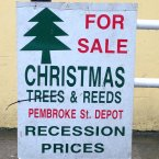 We think they meant 'wreaths' down in Tralee?
