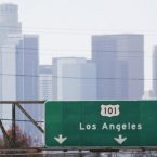Los Angeles, like much of California, sits along the San Andreas Fault, making it one of the most earthquake prone places in the world. 14.7 million people are at risk directly of earthquakes at any given time in the city. <span class=