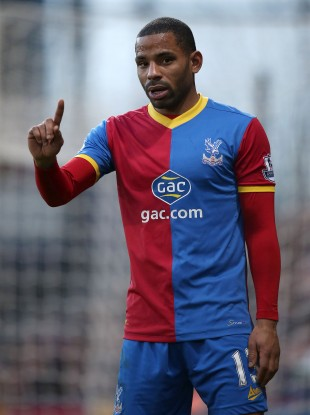 Fined: Crystal Palace's Jason Puncheon.