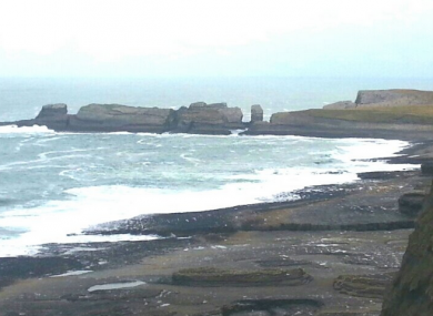 The Balthard Cliffs in Doonbeg.
