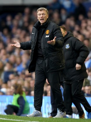 David Moyes wonders what's going on.