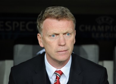 Manchester United manager David Moyes' tactics have been criticised.