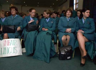 aer lingus strike to take place on friday the cabin crew