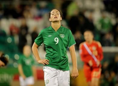 Fiona O'Sullivan at the final whistle.