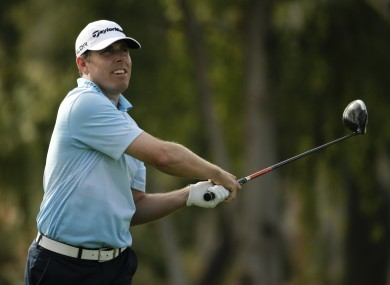 Justin Leonard was 2-under after a flying start on the first hole.