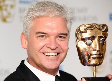 Phillip Schofield wins a British Academy Television Awards for The Cube.