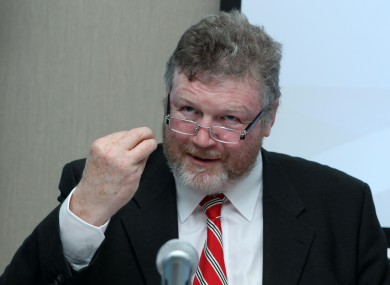Health Minister James Reilly.