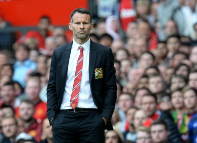 Manchester United's interim manager Ryan Giggs insists he is paying no heed to recent speculation regarding the club.